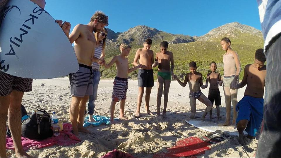 Kogel Bay skim outing