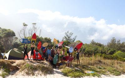 I2B Skim Camp at Kogelbay
