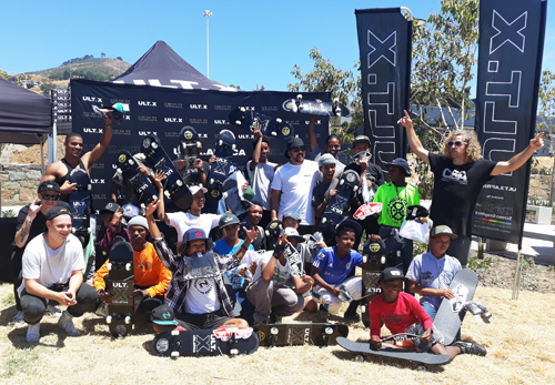Opening of the Cape Town Waterfront Skatepark